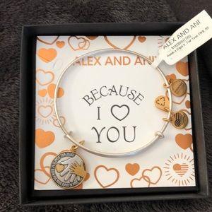 Alex and Ani teacher bracelet NWT